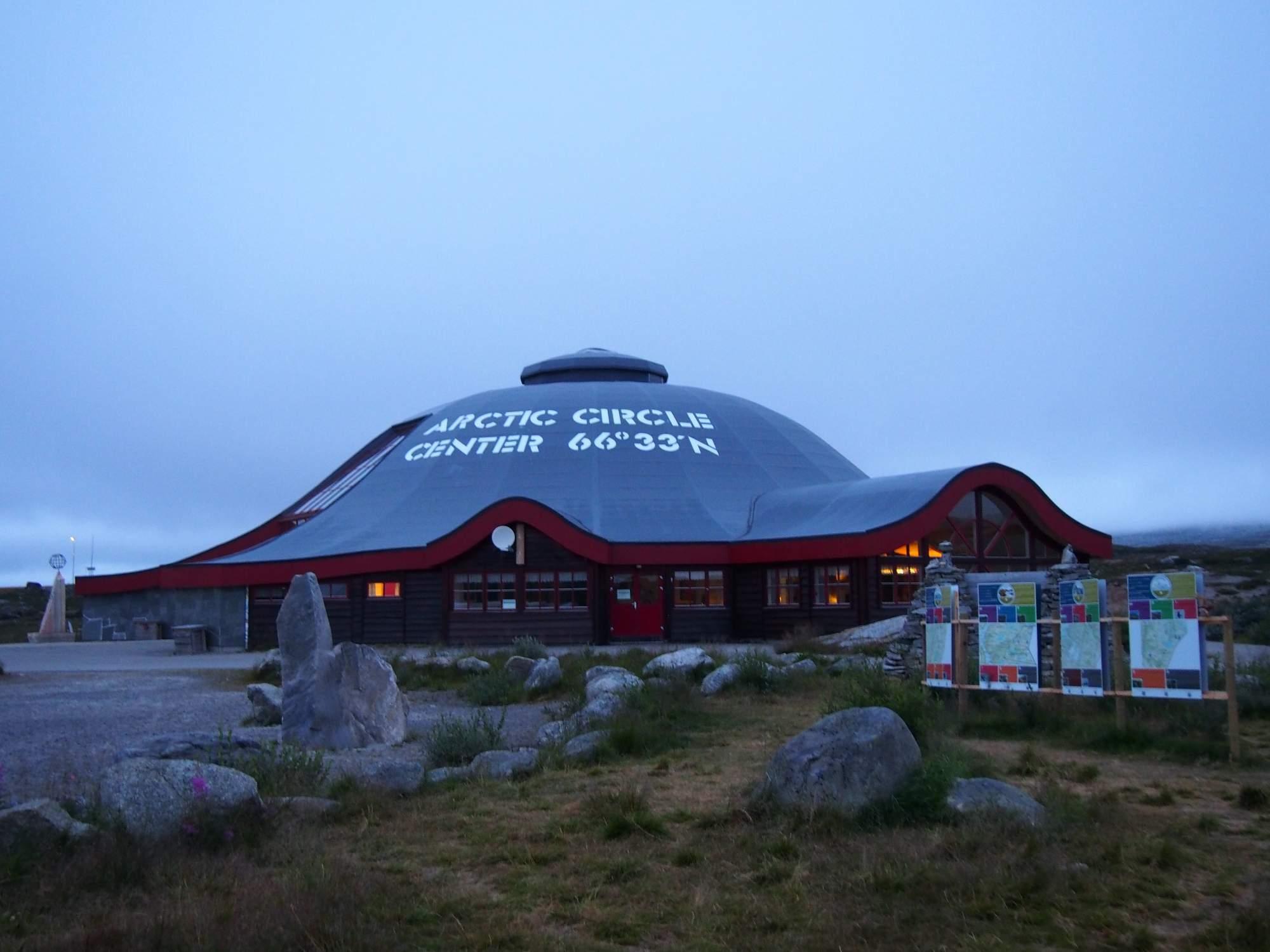 Polární kruh v Norsku