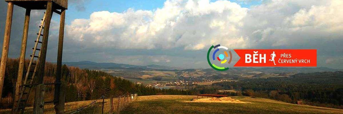 Běh přes Červený vrch 11.6.2017  - Iscarex v Dolní Čermné