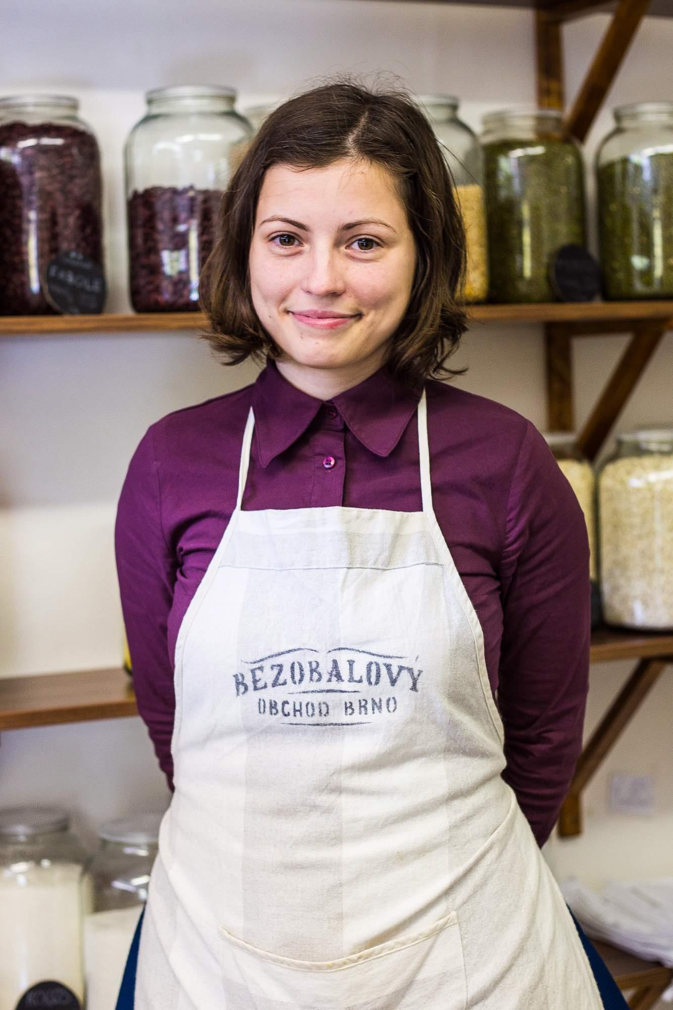 Majitelka obchodu Martina Beranová, foto: Kristýna Čermáková