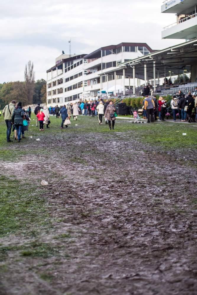 Terén byl opravdu bahnitý, foto: Kristýna Čermáková