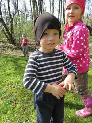 V lese na jaře (zelená třída)