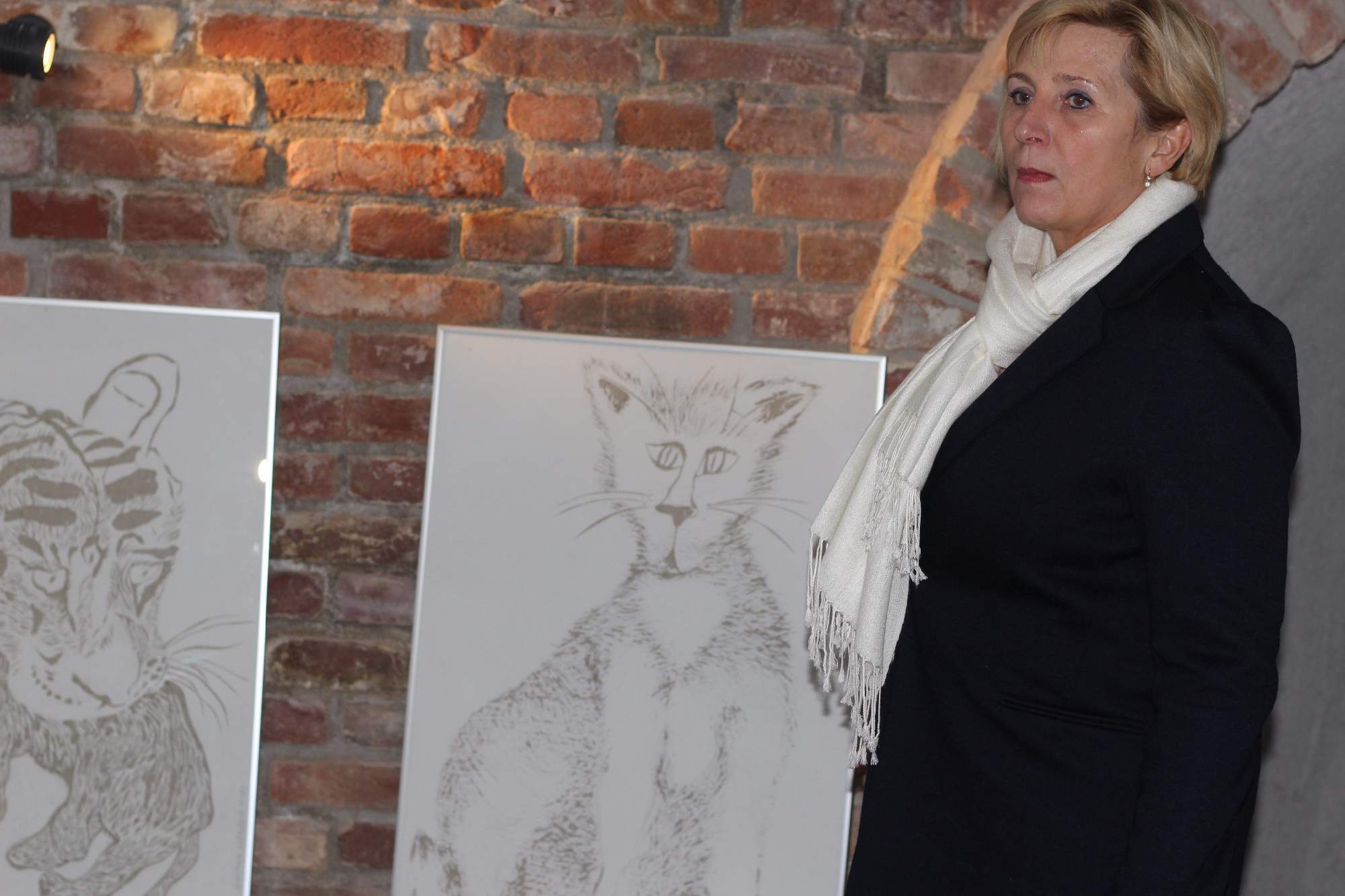 Hana Babyrádová z Katedry výtvarné výchovy Masarykovy univerzity. Foto: Tomáš Siřinek