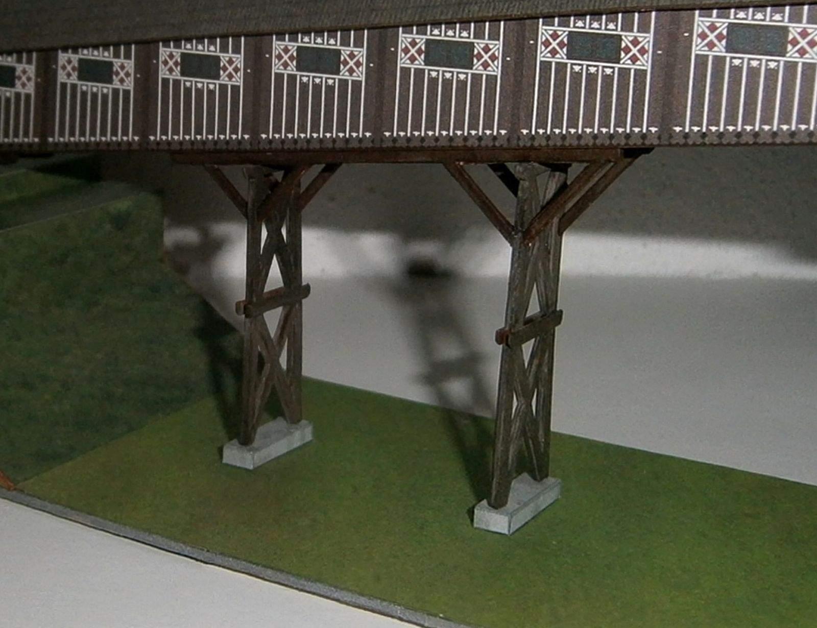 Dřevěný krytý most