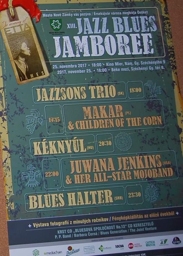 4f8712df0 Jazz Blues Jamboree Nové Zámky 25.11.2017 – zorkili – album na Rajčeti