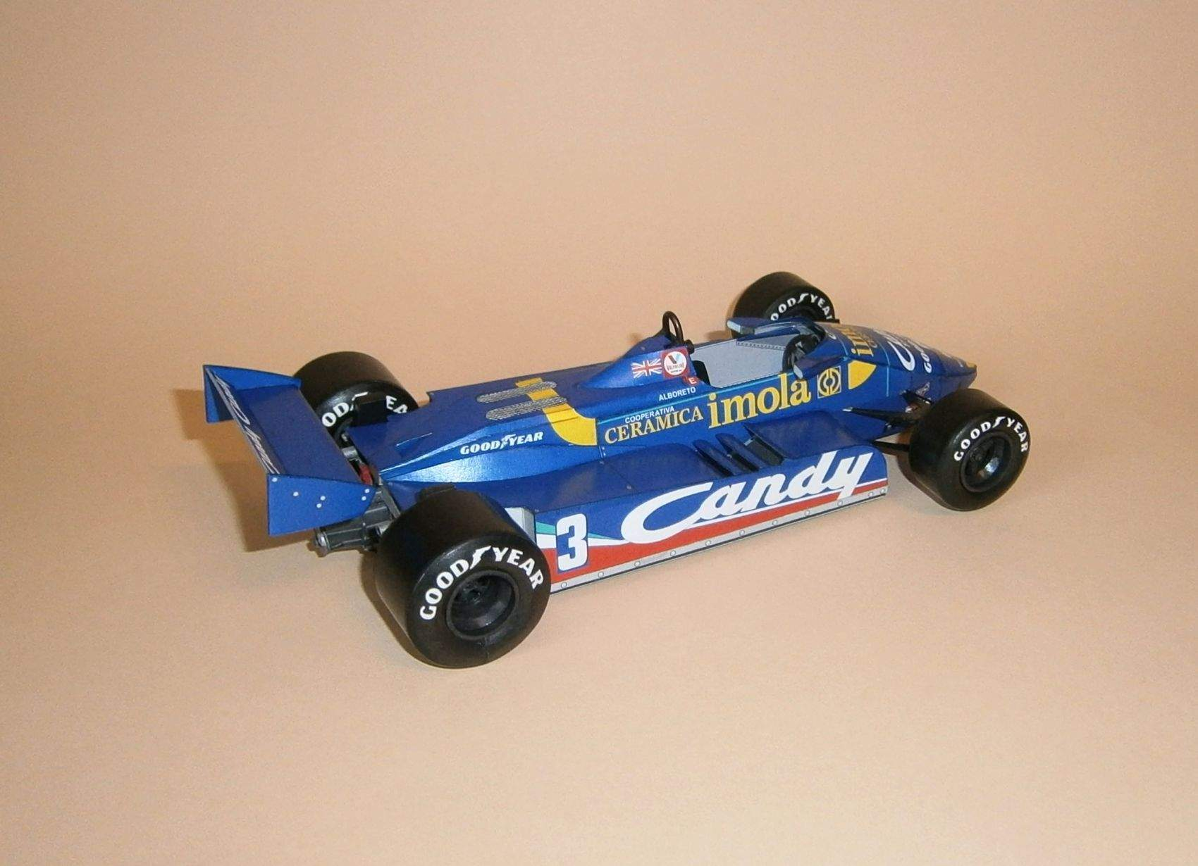Tyrrell 011 - M.Alboreto, GP Zolder 1982