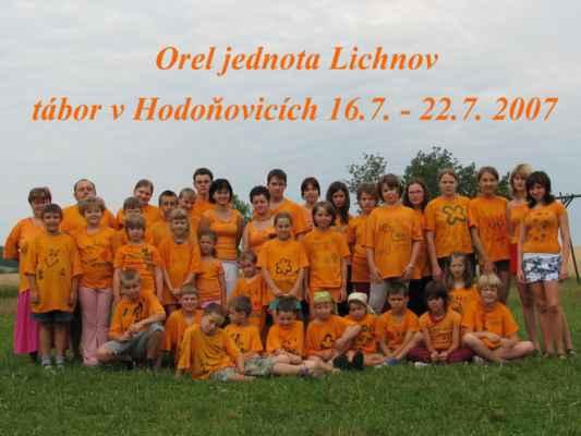 2007  tábor v Hodoňovicích