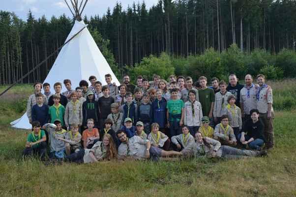 tábor Kocelovice 2019