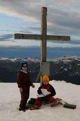 ha 2v petuskasal 092 - Lenka se letos zapisuje do vrcholové knihy na Lawinensteinu už po třetí!