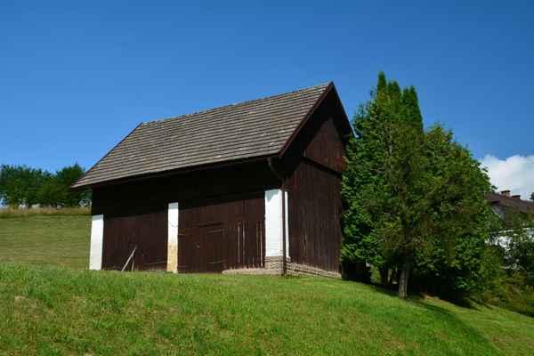 stodola v obci Bukovina