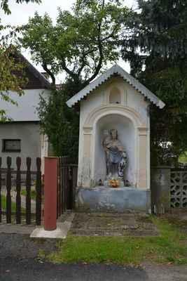Klokočí - kaplička se sv. Václavem