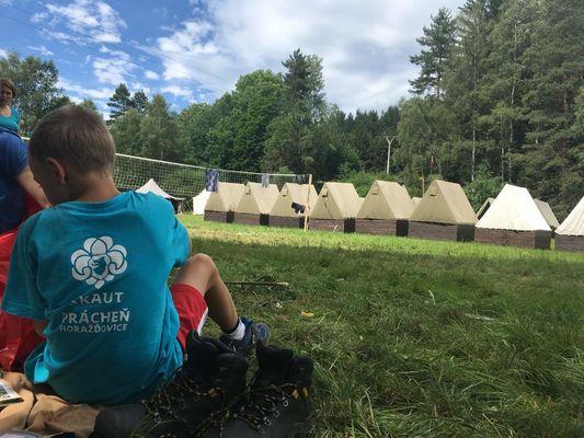 Tábor Mladíkov 2017 - Globi