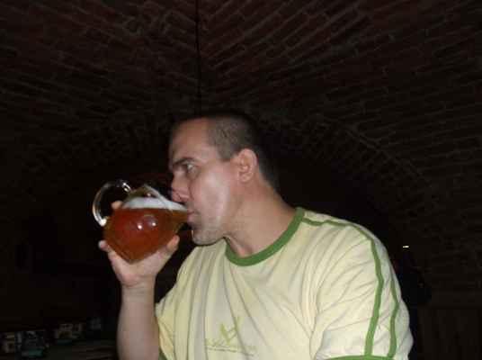 Fryštátský ležák 11°, pivnice Bečky, Karviná-Fryštát