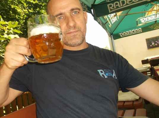 Fryštátský ležák 11°,restaurace Baron, Karviná-Fryštát (1)