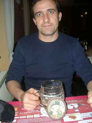 Fryštátský ležák 11°,restaurace Baron,Karviná
