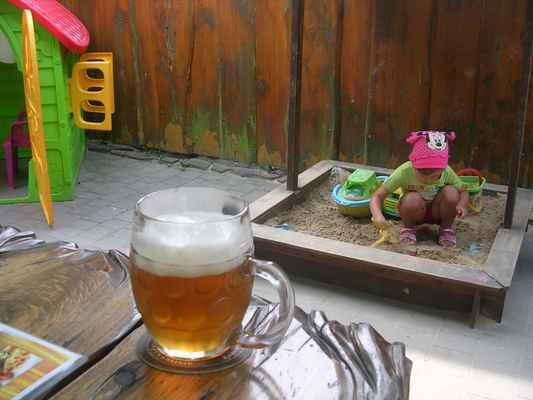 Fryštátský ležák 11°- Městský Karvinský pivovar  - restaurace Baron