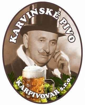 Logo Karvinské pivo KARPIVOVAR - Městský Karvinský pivovar