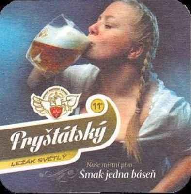 Podtácek Fryštátský ležák - robka s pivkem