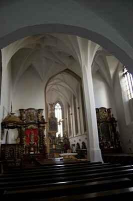 Kostel v Soběslavi.