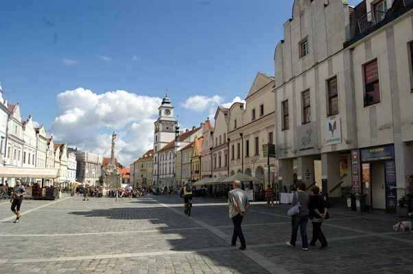 Náměstí v Třeboni.