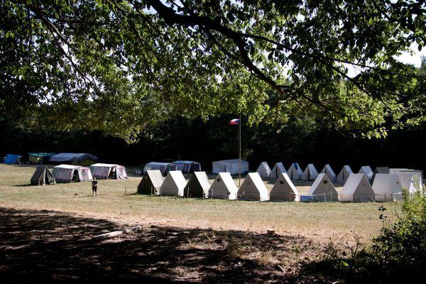 Skautský tábor 2018