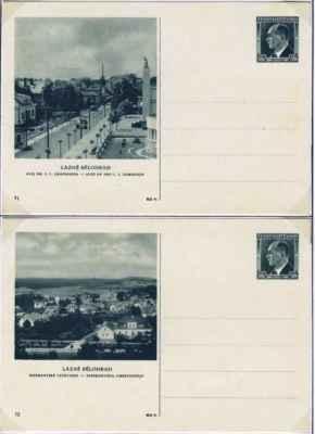 2 z 2. série 4 pohlednic (1938 )- du el la 2-a serio de 4 bildkartoj (1938)