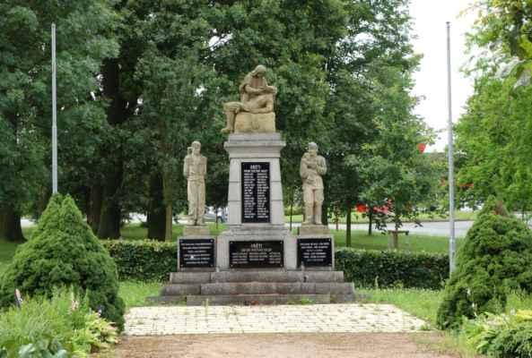 Památník obětem 1. a 2. SV...