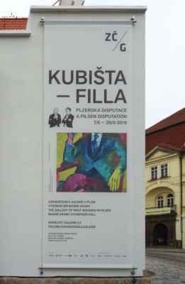 Výstava, která je cílem naší návštěvy v Plzni.