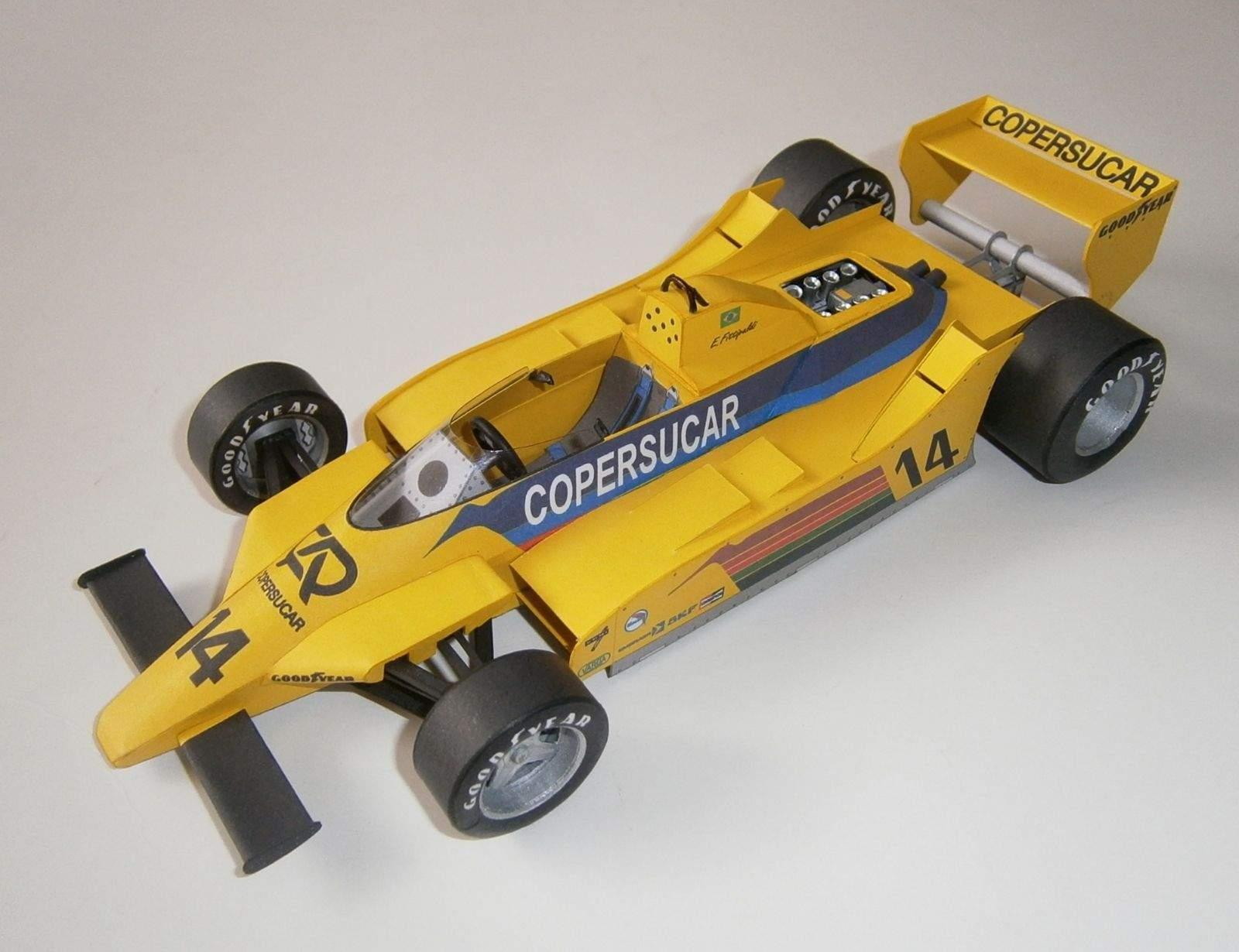Fittipaldi F6A - E.Fittipaldi, GP Germany 1979