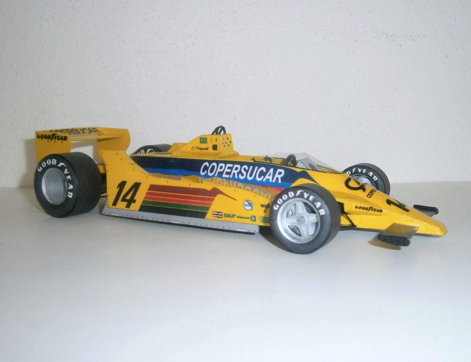 Fittipaldi F6A - Emerson Fittipaldi, GP Germany 1979