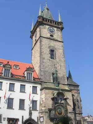 Staroměstská radnice s orlojem, Praha.