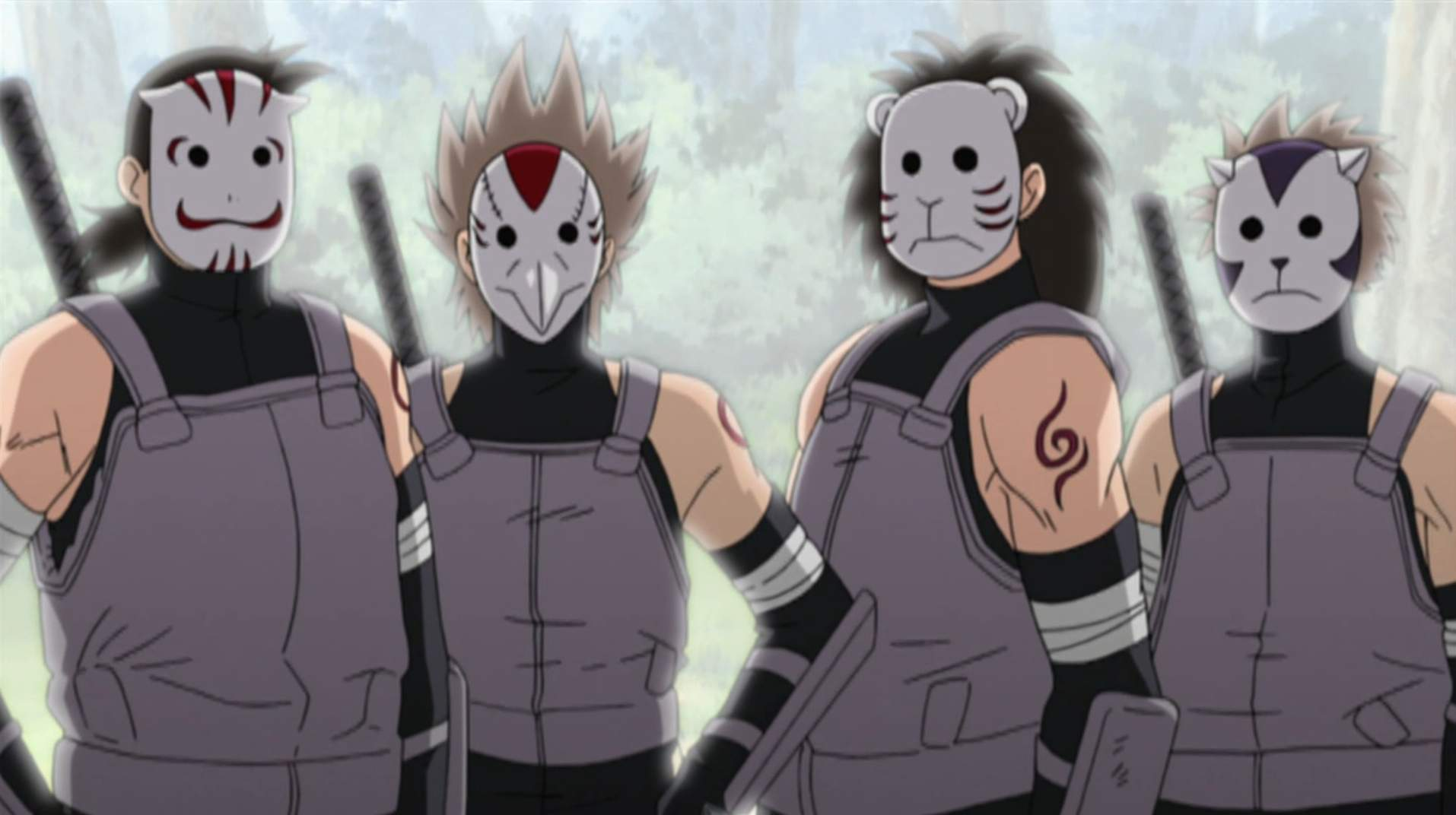 Ninja ranky (genin, chuunin, apod.) ANBU