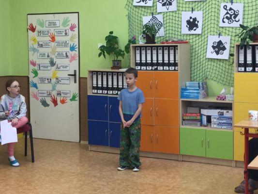 Recitační soutěž, školní kolo, 20.2.2019