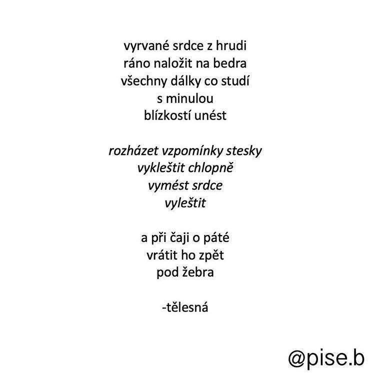 kouření báseň