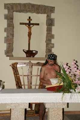 Piráti obsadili kostel