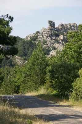Cesta na Monte Pinu