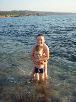Bráchu do vody ponořiti - velkou radost míti