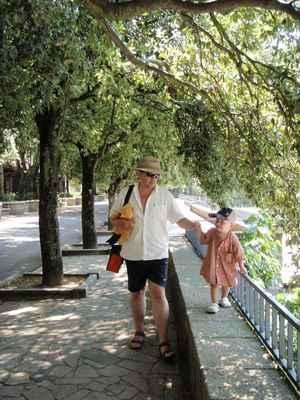 S parťákem na procházce