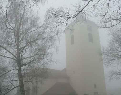 na návsi ve slatině stojí kostel již od konce 12. století. původně byl gotický a zasvěcen byl sv. václavu, po rekonstrukci v roce 1744 se jeho patronem stal sv. jan nepomucký.